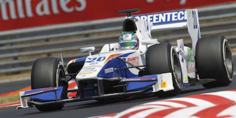Berthon se estrena en GP2 con una gran victoria en Hungría