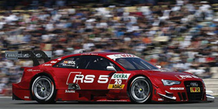 Audi Sport listo para la cita del DTM en Moscú