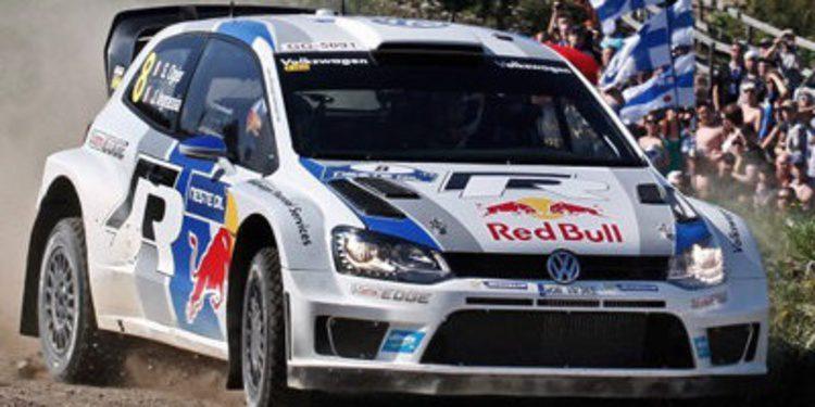 Sebastien Ogier hace historia al ganar el Rally de Finlandia