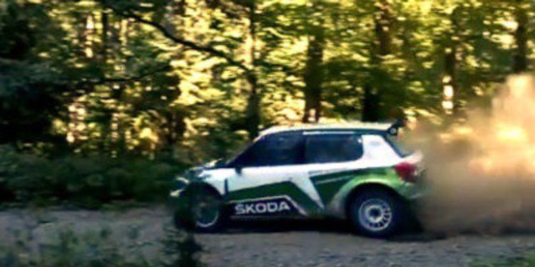 Skoda empieza a avanzar en su Fabia R5