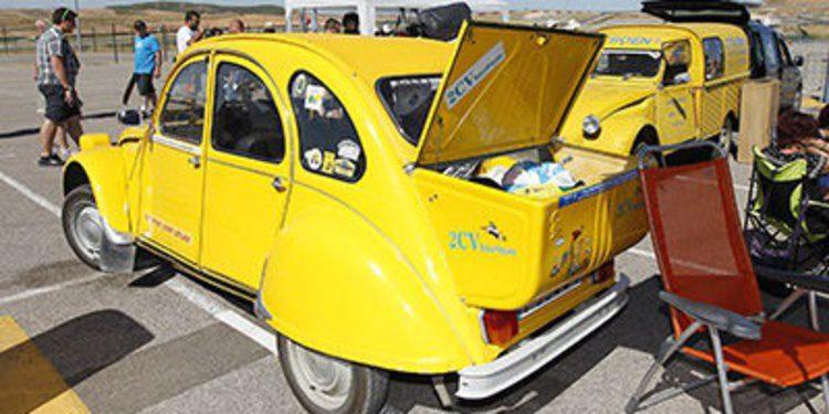 Record en la concentración Citroën 2 CV