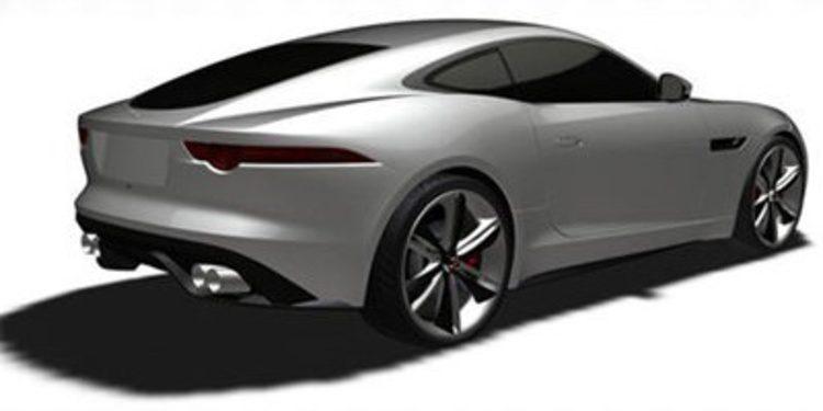 El nuevo Jaguar F-Type Coupé, en patentes