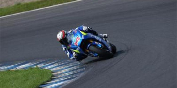 Suzuki completa las 2 jornadas de test en Motegi