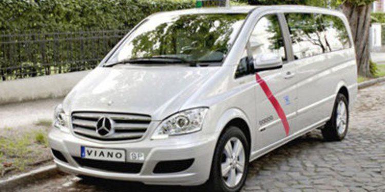 Viano y Vito, taxis de Mercedes por el mundo