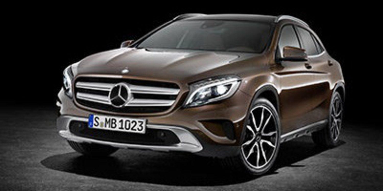El SUV compacto de Mercedes se llama GLA