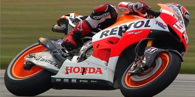 Los FP1 de MotoGP en Indianápolis para Marc Márquez
