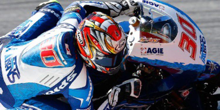 Takaaki Nakagami aparece en los FP1 de Moto2 en Indy