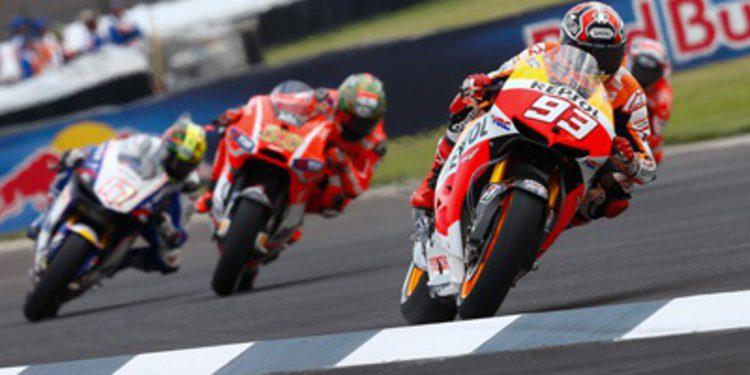 Marc Márquez no da tregua en los FP2 de MotoGP en Indianápolis