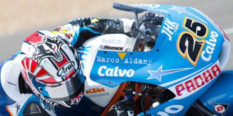Maverick Viñales avisa en los FP3 de Moto3 en Indy