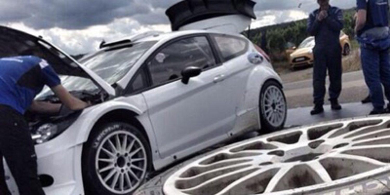 Los equipos del WRC preparan el Rally de Alemania