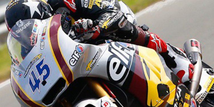 Redding pole de Moto2 en Indy superando a Espargaró