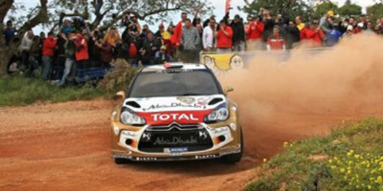 Citroën Racing tendrá tres DS3 WRC en 2014