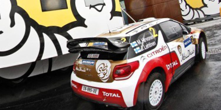 Citroën Racing a por nota en el Rally de Alemania