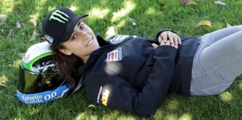 María Herrera como wild card de Moto3 en Aragón