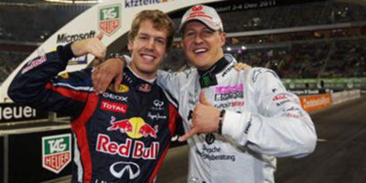 Michael Schumacher no falta al Race of Champions 2013