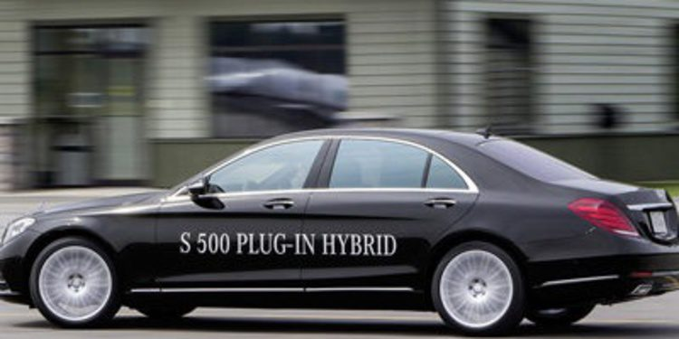 Mercedes S500 Plug-in Hybrid como alternativa