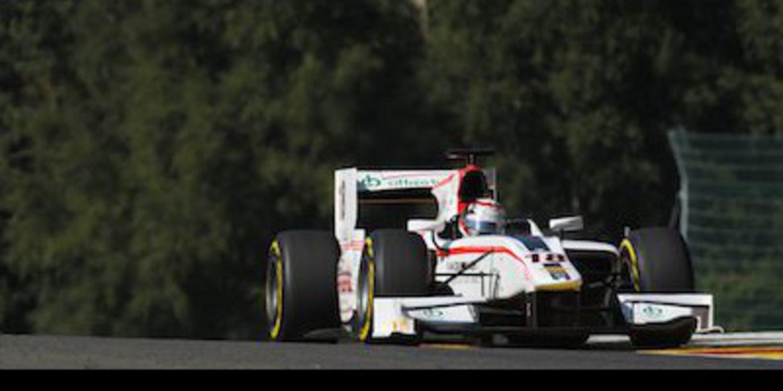 Coletti manda durante los libres de GP2 en Spa