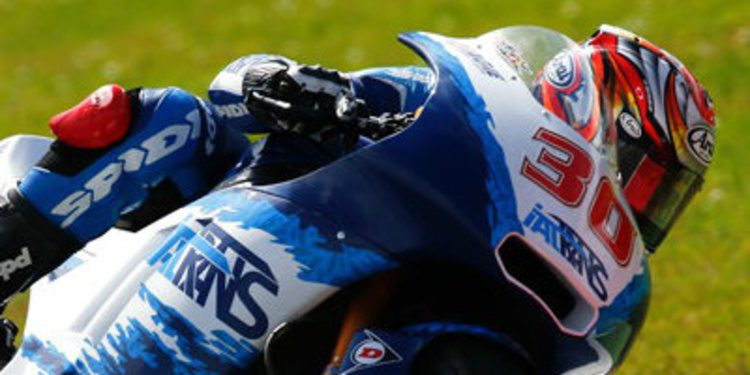 Nakagami cierra los libres de Moto2 en Brno arriba