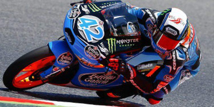 Alex Rins suma la pole de Moto3 en Brno con autoridad