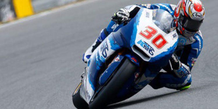 Segunda pole de Moto2 para Takaaki Nakagami en Brno