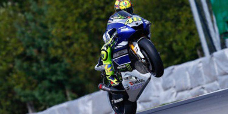 Los protagonistas narran su Q2 de MotoGP en Brno