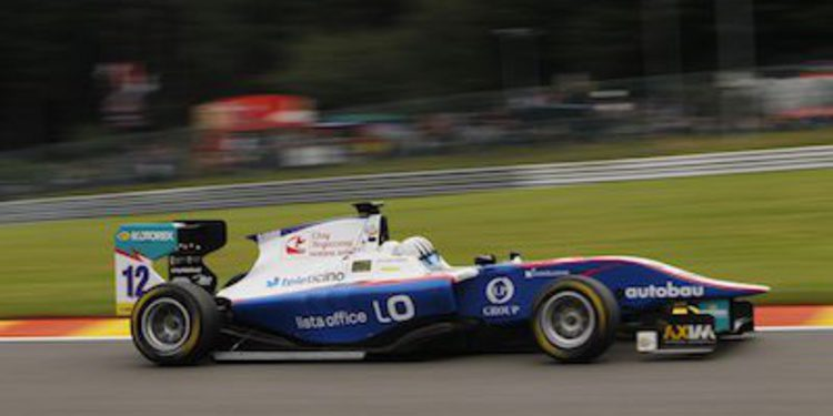 Alex Fontana, excluído de la calificación de GP3 en Spa