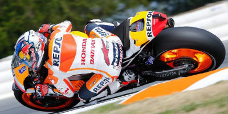 Dani Pedrosa lanza el aviso final en el Warm Up de Brno