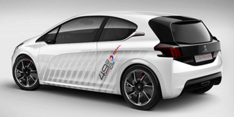 Peugeot 308 R Concept y Peugeot 208 Hybrid FE