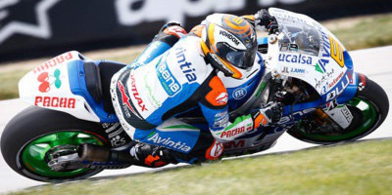 Héctor Barberá viaja a Silverstone dolorido