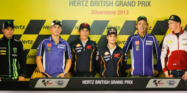 Rueda de prensa oficial GP Gran Bretaña 2013 MotoGP