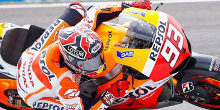 Los FP1 MotoGP en Silverstone colonizados por Marc Márquez