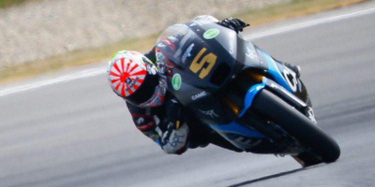 Johann Zarco cierra el viernes de Moto2 al frente