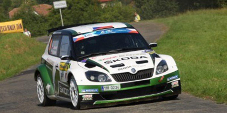 Jan Kopecký no permite sorpresas en el Barum Rally del ERC