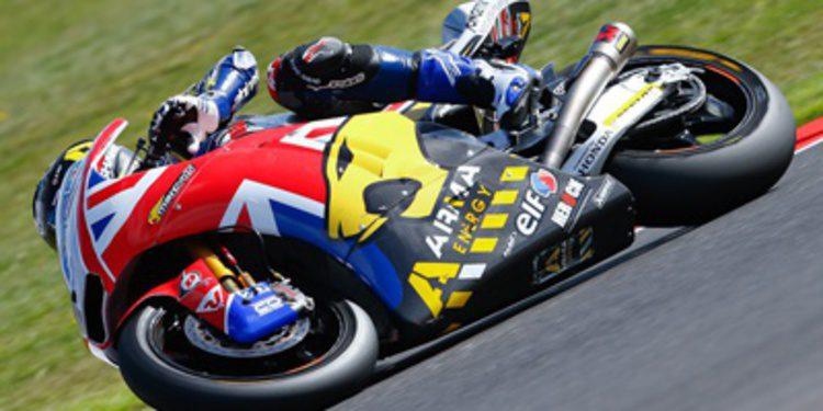 Scott Redding gana en Moto2 con fiesta en Silverstone