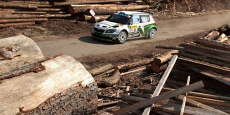Jan Kopecký gana el Barum Rally y acerca el título del ERC