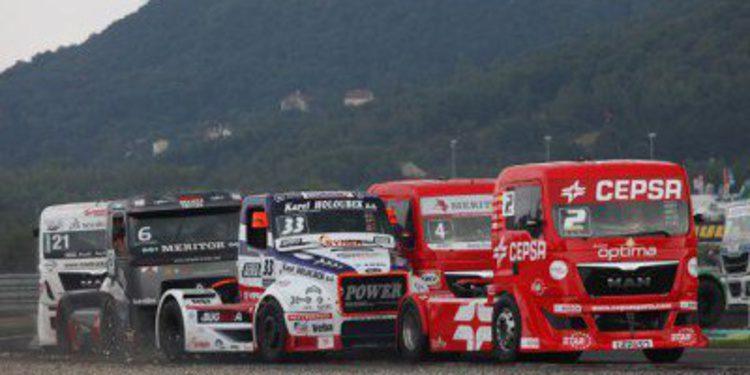 GP Camión Most: Antonio Albacete podio en las cuatro mangas
