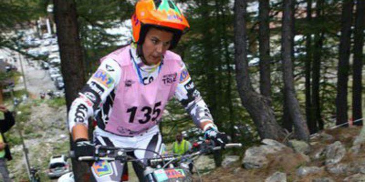 Doble victoria de Laia Sanz en el Trial de Francia