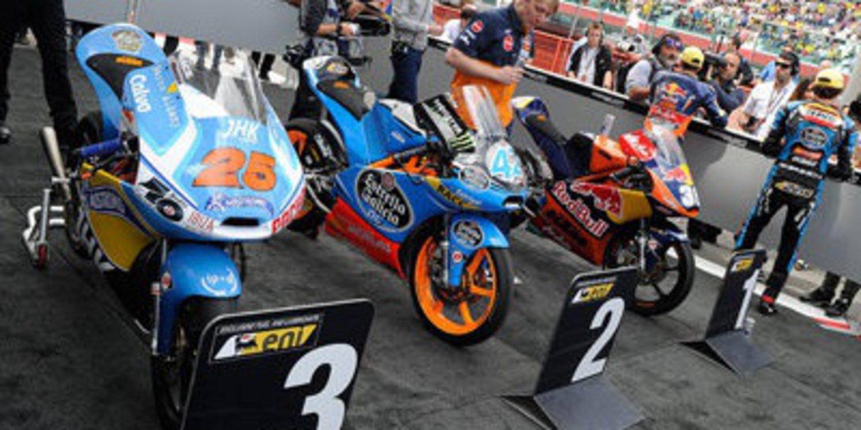KTM campeón de marcas en Moto3 tras Silverstone