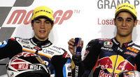 Maverick Viñales y Luis Salom con Pons en Moto2