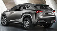 Lexus LF-NX Concept: El SUV más radical en Frankfurt