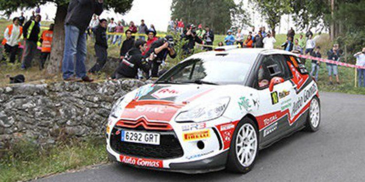 Enrique García Ojeda al Rally de Francia del WRC