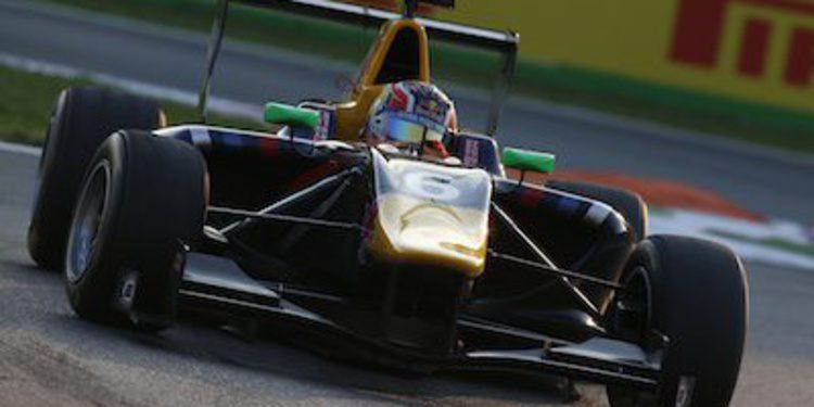 Daniil Kvyat manda en los libres de GP3 en Monza