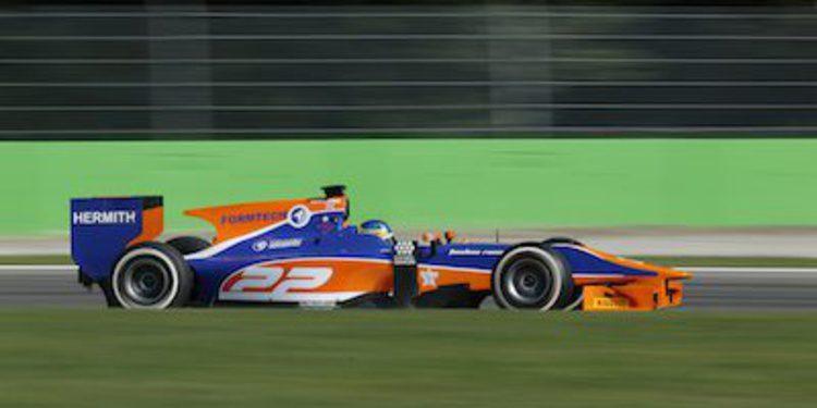 Hobbs se estrena en GP2 con victoria en el sprint de Monza