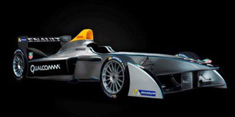 La Formula E presenta el Spark-Renault SRT-01E
