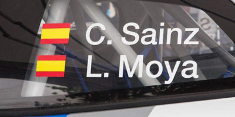 Carlos Sainz y Didier Auriol en el RallyLegend 2013