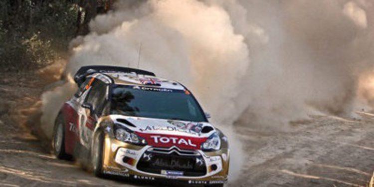 Kris Meeke scratch en el QS del Rally de Australia