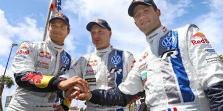 Ogier, Latvala y Mikkelsen siguen con Volkswagen en 2014