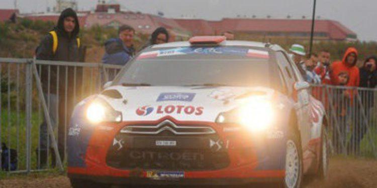 Robert Kubica domina el QS del Rally de Polonia