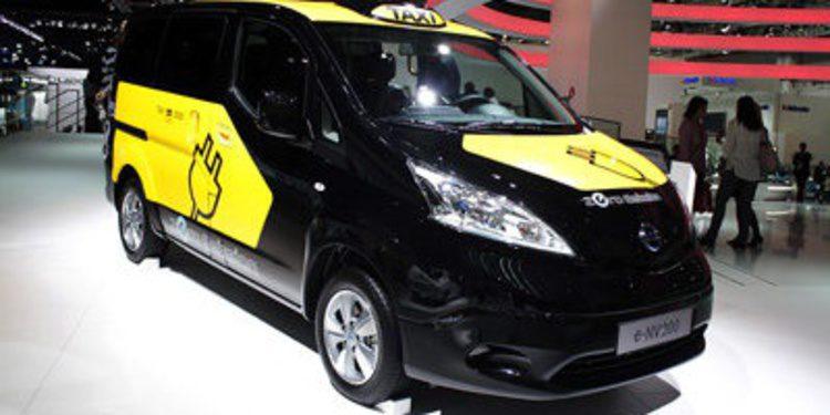 Nissan e-NV200 será taxi eléctrico en Barcelona