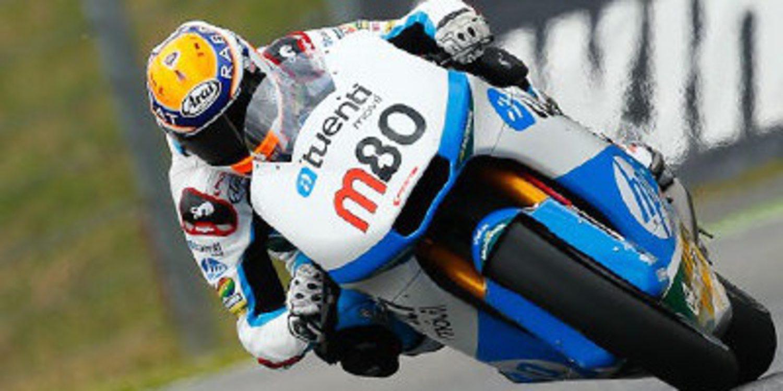 Tito Rabat da alternacia en los FP3 de Moto2 en Misano